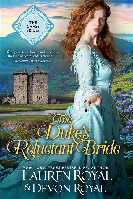 [Cover of The Duke's Reluctant Bride]