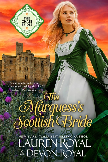 [Cover of The Marquess's Scottish Bride]