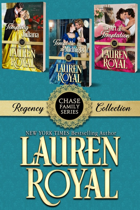 [Cover of Regency Chase Family Boxed Set]